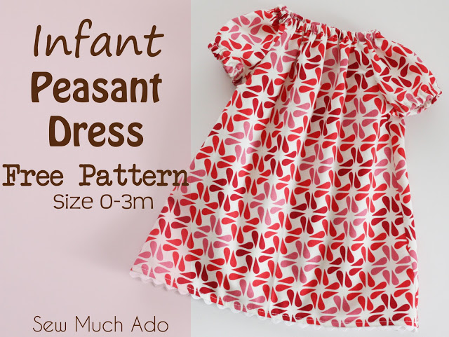 Infant Peasant Dress Free PatternEmailFacebookFlickrGoogle+InstagramPinterestRSSTwitter